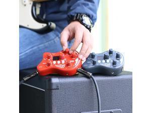 ammoon PockRock Portable Guitar Effect Pedal-Dark Green
