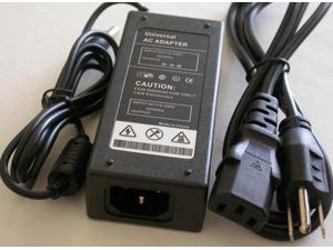 Omnihil AC//DC Power Adapter Compatible with Epson DS-780N UL Listed