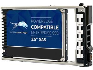 """WP 3.84TB 3D TLC SAS 12Gb/s 2.5"""" 15mm SSD for Dell PowerEdge Servers   Enterprise Solid State Drive in G13 Tray"""