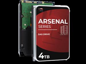 WP Arsenal 4TB SAS HDD 7200RPM 3.5-Inch DAS Hard Drive