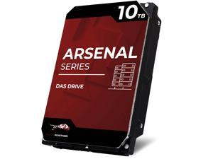 WP Arsenal 10TB SAS HDD 7200RPM 3.5-Inch DAS Hard Drive Compatible in NetApp, SuperMicro, Synology, JBOD Storage Expansion Enclosures