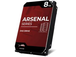 WP Arsenal 8TB SATA 7200RPM 3.5-Inch DAS Hard Drive Compatible in NetApp, SuperMicro, Synology, JBOD Storage Expansion Enclosures