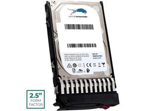 WP 900 GB 10K RPM 512e SAS 6Gb/s 2.5-Inch HDD for HP ProLiant Servers | Enterprise Data Center Hard Drive in HPE G7 Tray Compatible with 785075-B21 785075-S21 785414-001