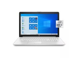 "Newest HP 17.3"" HD+ Touchscreen Premium Laptop, 10th Gen Intel Quad-Core i5-1035G1 Upto 3.6 GHz, 8GB RAM, 256GB PCIe SSD, DVD-RW, Card Reader, HDMI, Windows 10 Home, Silver"
