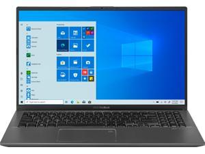 "2021 Asus Vivobook X512JA 15.6"" FHD Premium Laptop, 10th Gen Intel Quad-Core i7-1065G7 upto 3.9GHz, 8GB RAM, 256GB PCIe SSD Boot + 1TB HDD, Fingerprint Reader, Windows 10 Home, Slate Gray"