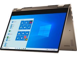 "2021 Dell Inspiron 7000 i7405 14"" FHD Touchscreen IPS Premium 2-in-1 Laptop, AMD Ryzen 5 4500U (beat i7-10710U), 8GB RAM, 256GB PCIe SSD, Backlit Keyboard, Fingerprint Reader, Windows 10, Sandstorm"