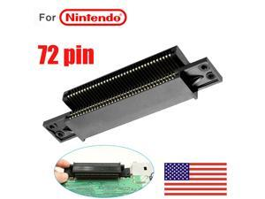 72 Pin Connector Replacement Cartridge Slot For  NES Console 8Bit System