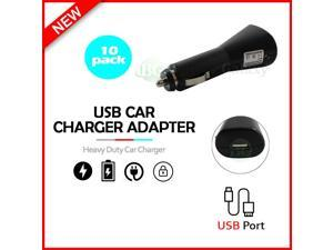 10 USB Car Charger Plug Adapter for  iPhone 12/12 Mini/12 Pro/12 Pro Max/SE