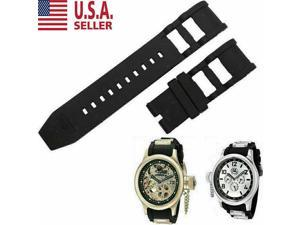 RUBBER WATCH BAND STRAP FOR INVICTA RUSSIAN DIVER 1805 1201 1845 1959 26MM#4 USA