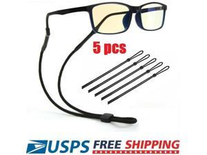 5pcs Sport Sunglass Neck Strap Eyeglass Read Glasses Neck Cord Lanyard Holder US