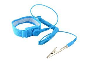 Anti-Stc Wrist Band ESD Grounding Strap Prevents Stc Build Up, Blue