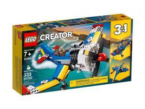 LEGO Creator Race Plane Aerial Action 3 in 1 Racing Plane with Flight Suit, Pieces: 333, Age: 7 Years and Up