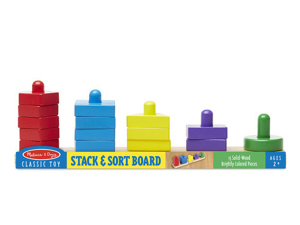 Classic Toy: Stack & Sort Board