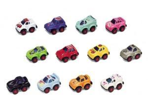 Pull Back Mini Racers Assorted Colors - One Car