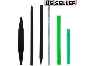 Plastic Pry Tools + Metal Spudger Opener for iPad  Galaxy Tab Repair, 5pc Set