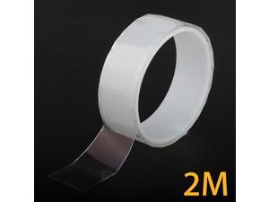 3m/9.8ft Reusable Nano Magic Tape Double-Sided Washable Traceless Adhesive Gel