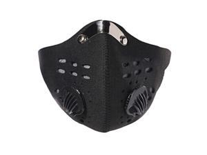 1PC Cycling Face Mask Activated Carbon Protective Double Breathing Valve Masks Antibacterial Anti-Pollution Face Mask