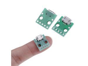 5pin Female Connector MICRO USB To DIP Adapter B Type Pcb Converter Pinboard 2.54