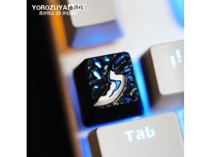 1 Mechanical Keyboard MX Keycap Colore : DOTA2 Key 1PC Keyboard keycaps 1 Aluminum Alloy Metal Keycap for DOTA2 Esc R4 Area Personalized Gaming Keycap