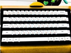 108 Keys/set PBT Dye-Sublimation key caps Original Factory Height Mechanical keyboard Keycap Japanese Korean Russian Caps
