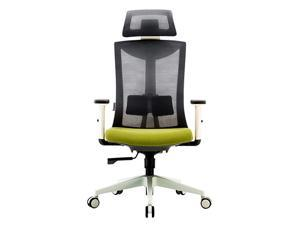 SIHOO M80C-M102 Ergonomic Office Chair Computer Chair Adjustable Head & Arm Rests with Lumbar Support High Back with Breathable Mesh(Gray)