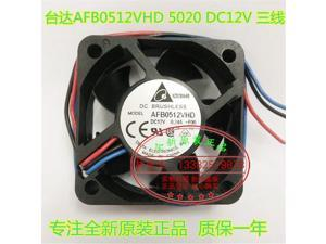 Delta 5020 AFB0512VHD 12V 0.24A 3-wire server power supply cooling fan
