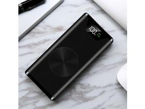 500000mAh Power Bank Christoph Wireless Charging 2 USB LCD LED Portable Battery Charger