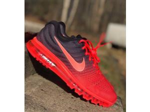 Christoph Air Max 2017 Mens Running Shoe Crimson/Black 849559-600 NEW Multiple Sizes