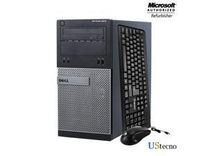 Grade A -Dell Optiplex 3020 Tower PC Intel Core i5 4th gen 4570 (upto 3.6 GHz) 8GB New 256GB SSD+500GB DVD WiFi + Bluetooth 4.0, USB 3.0 Windows 10 Home 64 Bit