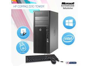 Grade A- HP Z210 Workstation Tower Desktop PC Core i5 2nd Gen 2400 @ 3.10 Ghz 16GB 512GB SSD  Windows 10 Professional- 64 bit Free WiFi Adapter
