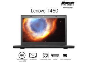 "Lenovo Thinkpad T460 14"" Screen Laptop  , Core i5 6th Gen 6300U @ 2.40Ghz ( Upto 3.00Ghz) 16GB DDR3 Memory (Support upto 32GB Memory ) 480GB SSD HDMI / Mini Display Port Windows 10 Professional"