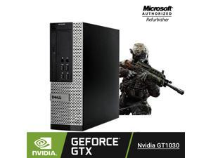 Gaming PC - Dell Optiplex 7020 SFF Desktop computer intel i7-4770 (Quad Core) @ 3.4GHz, 16GB RAM 256GB SSD Hard Drive NVIDIA GeForce GT 1030 2GB DDR4 Video Card, HDMI, Windows 10 Pro