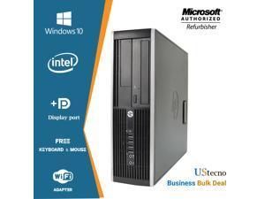 Best Business Desktop PC  HP Elite 8000 sff Intel Core 2 Duo 3.0GHz 8GB RAM 250GB HDD Hard Drive Windows 10 Pro PC Computer