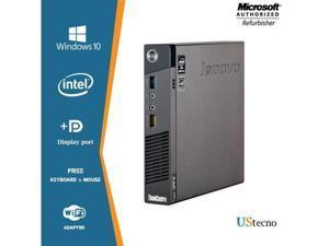 Lenovo Grade A Desktop Computer M93P Intel Core i5 4th Gen 4570T (2.90 GHz) 8 GB DDR3 512 GB SSD Windows 10 Pro - US TECNO