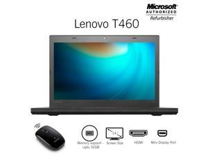 "Lenovo Thinkpad T460 14"" Screen Laptop , Core i5 6th Gen 6300U @ 2.40Ghz 16GB DDR3 Memory (Support upto 32GB Memory ) 512GB SSD HDMI / Mini Display Port Free Bluetooth Mouse Windows 10 Professional"
