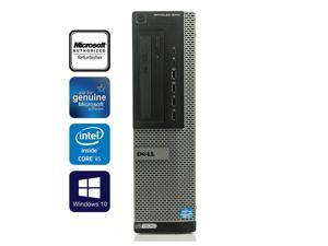 DELL OptiPlex 9010 Desktop PC Computer Core i5 3470 16GB 256GB SSD Windows 10 Professional New Free Keyboard,mouse,powercord,WiFi Adapter
