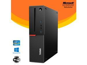 Lenovo Thinkcentre M900 Small Form Factor (SFF)  Computer Intel Core i5 6th Gen 6500 16GB NEW 256GB SSD  Windows 10 Professional New Keyboard, Mouse,Power cord,WiFi Adapter