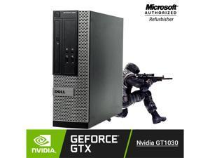 Gaming PC Desktop Computer Dell 3020 SFF Intel Quad Core i5-4570   GT 1030 2GB DDR4 Video Card (HDMI, DVI , VGA) Windows 10 Pro