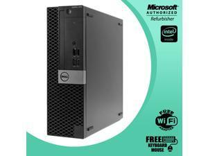 Grade A - Dell Optiplex 5050 Small Form Factor (SFF)  Core i5 6th Gen 6500 3.2 Ghz 8GB RAM 480GB SSD HDMI , Bluetooth 4.0 Free WiFi Adapter WIn  10 Pro 64 Bit