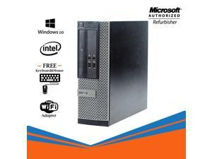 Grade A - Dell Optiplex 3020 SFF Desktop PC Intel Core i5 4th Gen 4570 8GB NEW 256GB SSD DVD / Display Port /Windows 10 Professional -64 Bit Free WiFi Adapter