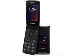 Verizon Alcatel Go Flip V 4051S Black 8GB 4G LTE Flip Phone