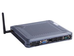 Mini PC,Desktop Computer,Intel Core I7 3537U,with Windows 10 Pro/Linux Ubuntu support,(Black),[HUNSN BH06],[COM/VGA/HDMI/LAN/ 8*USB2.0/ With Cooling fan],(4G RAM/64G SSD)