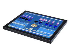 "19"" Industrial Panel PC,All in One Computer,Intel Quad Core J1800,Windows 7/10,Linux,5 Wire Resistive Touch Screen,(Black),[HUNSN WD01],[1VGA/3USB2/1USB3/1LAN/3COM/FAN],(Barebone System)"