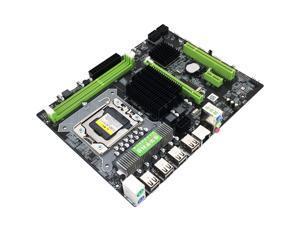 X58 Computer Motherboard for Intel X58 LGA1366 Socket DDR3 RTL8105E Gigabit LAN Desktop System Board