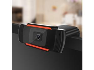 HD Webcam USB Camera Rotatable Video Recording Web Camera with Microphone for PC Computer 1080P