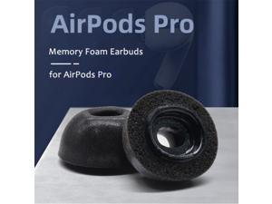 Memory Foam Replacement Ear Tips Earbud Earphone Cap For Apple Airpods Pro Headphones white M