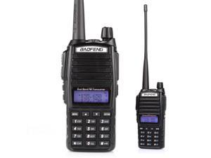 BaoFeng UV-82C Dual-Band 136-174/400-520 MHz FM Ham Two-Way Radio Transceiver HT with Battery Earpiece Antenna Charger