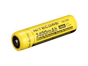 Nitecore 18650 Rechargeable Battery 3400mAh