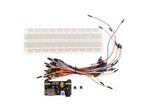5Pcs Geekcreit MB-102 MB102 Solderless Breadboard + Power Supply + Jumper Cable Kits