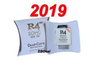 Buy 2019 New R4i White R4i 3DS Dual-Core Game Card R4 SDHC flashcart for 3DS, DSi, NDSL, NDS